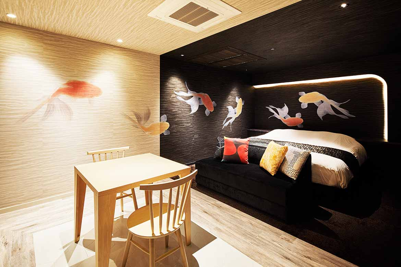 ホテル 弥富ホテルNUQU全室天然温泉の写真